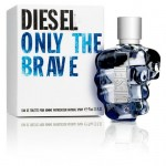 DIESEL ONLY THE BRAVE HOMME EDT 75ML SPRAY INSCATOLATO