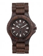 WE WOOD OROLOGIO IN LEGNO DATE CHOCOLATE 100 NATURALE