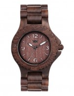 WE WOOD OROLOGIO IN LEGNO KALE CHOCO WHITE 100 NATURAL