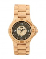 WE WOOD OROLOGIO IN LEGNO SIRIO BEIGE 100 NATURAL