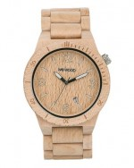 WE WOOD OROLOGIO IN LEGNO ALPHA BEIGE 100 NATURAL