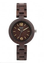 WE WOOD OROLOGIO IN LEGNO MIMOSA CHOCOLATE 100 NATURAL