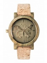 WE WOOD OROLOGIO IN LEGNO PAPILIO ARMY 100 NATURAL