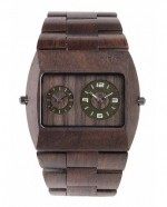 WE WOOD OROLOGIO IN LEGNO JUPITER CHOCOLATE 100 NATURALE