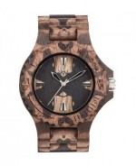 WE WOOD OROLOGIO IN LEGNO DATE NATURE MIRROR NUT 100 NATURALE