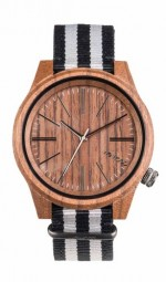 WE WOOD OROLOGIO IN LEGNO TORPEDO NUT GREY 100 NATURAL